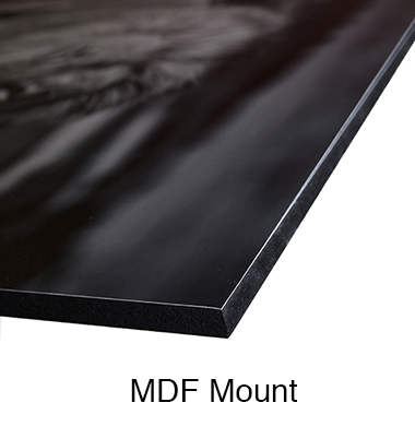 MDF 12mm with Black edge
